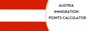 Austria Immigration points calculator