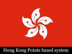 Hong Kong Points based System