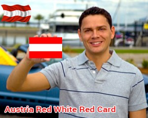 Austria Red White Red Card