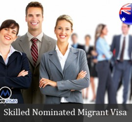 Skilled Nominated Migrant Visa for Australia
