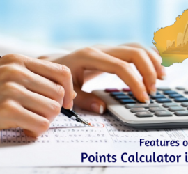 Australia-points-calculator